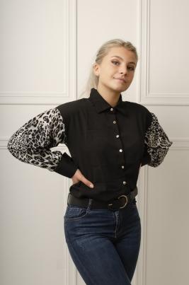 Skjorte - Enya svart