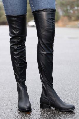Støvletter - Beate svart