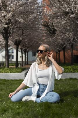 Kimono - Maggie hvit