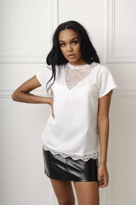Skjorte - Cora hvit