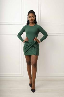 Kjole - Andrea grønn