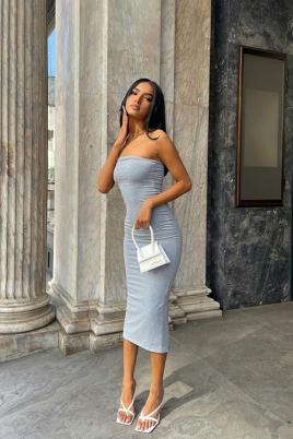 Kjole - Siri grå