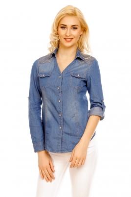 Skjorte - Lorna blå