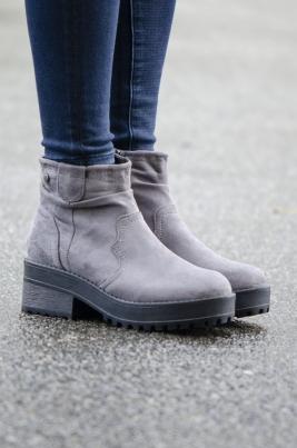 Boots - Alyssa grå
