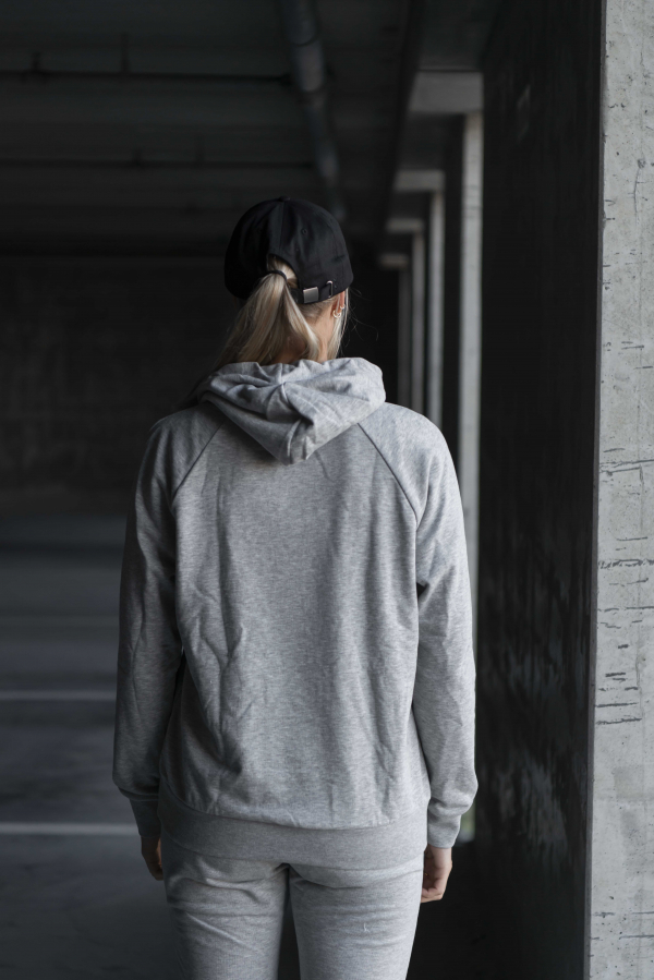 Hummel - NONI Hoodie grå