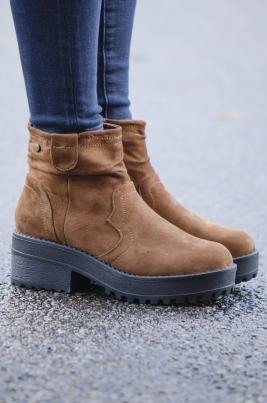 Boots - Alyssa camel