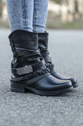 Boots - Lea svart