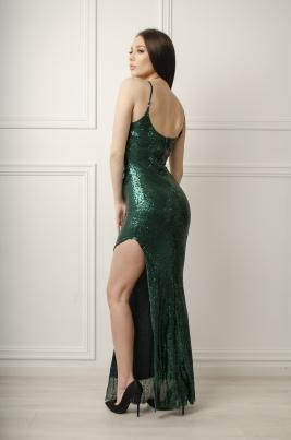 Kjole - Silja grønn