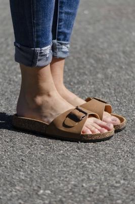 Sandaler - Synne camel
