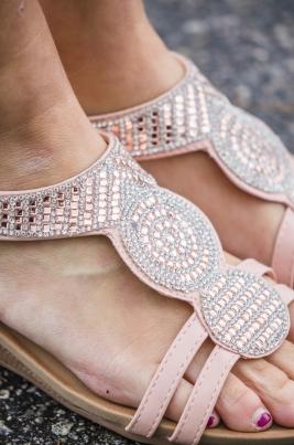 Sandaler - Agnethe rosa