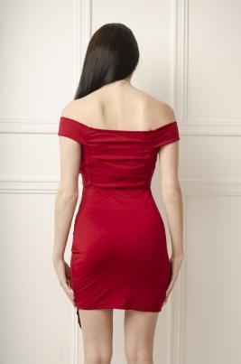 Kjole - Angelica rød