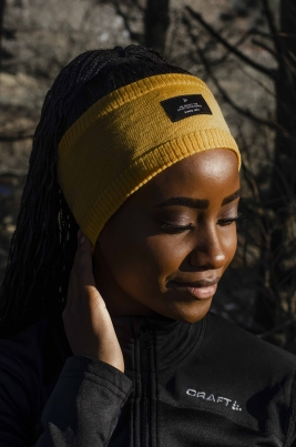 Craft -Urban knit headband Gul