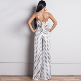 Jumpsuit - North Exclusive Stella hvit
