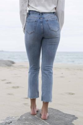 Jeans - Lilly straight leg blå
