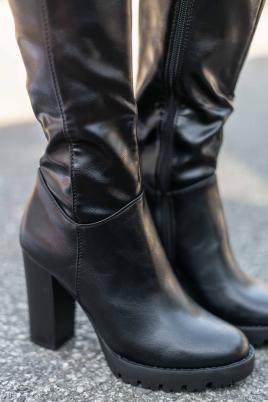 Støvletter - Anna svart