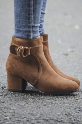Skoletter - Macey camel