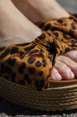 Sandaler - Emilia leopard