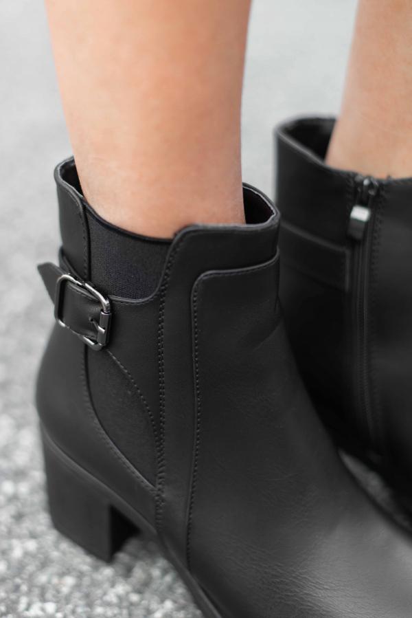 Støvletter - Trine svart