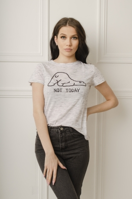 T-skjorte - Naomi hvit