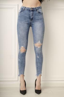 Jeans - Iris blå
