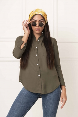 Skjorte - Lisa grønn