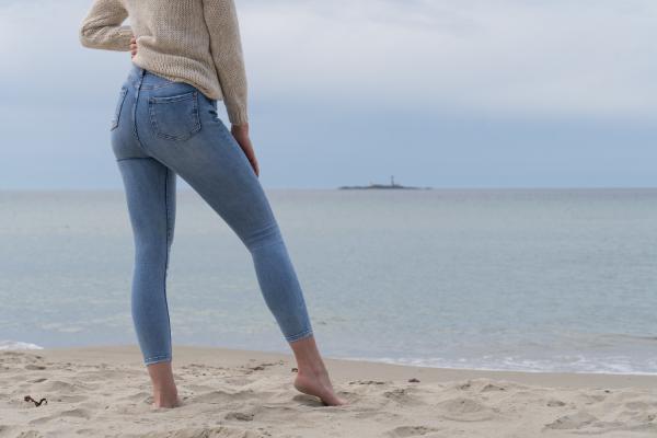 Jeans - Monica blå
