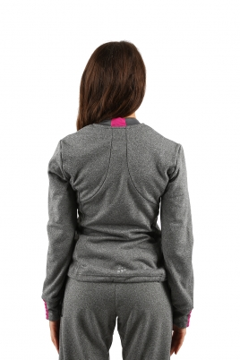 Craft - Pep Loose Jacket W Dark Grey Melange