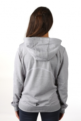 Craft - In The Zone Hood W Grey Melange