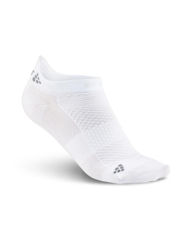 Craft - Stay cool shaftless sock hvit