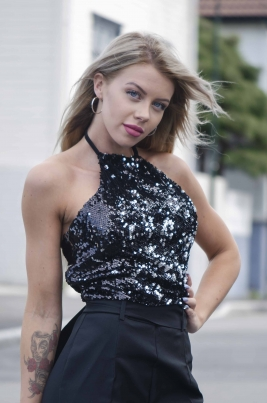 Topp - North Exclusive Anine Svart