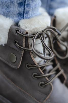 Boots - Cecilie khaki vinter