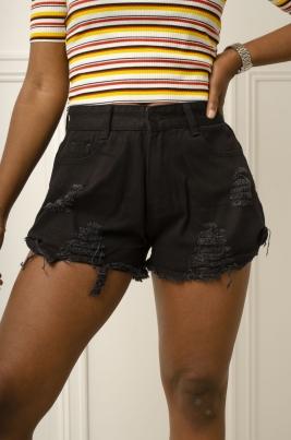 Shorts - Mila svart