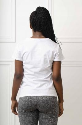 T-Skjorte - Melissa hvit