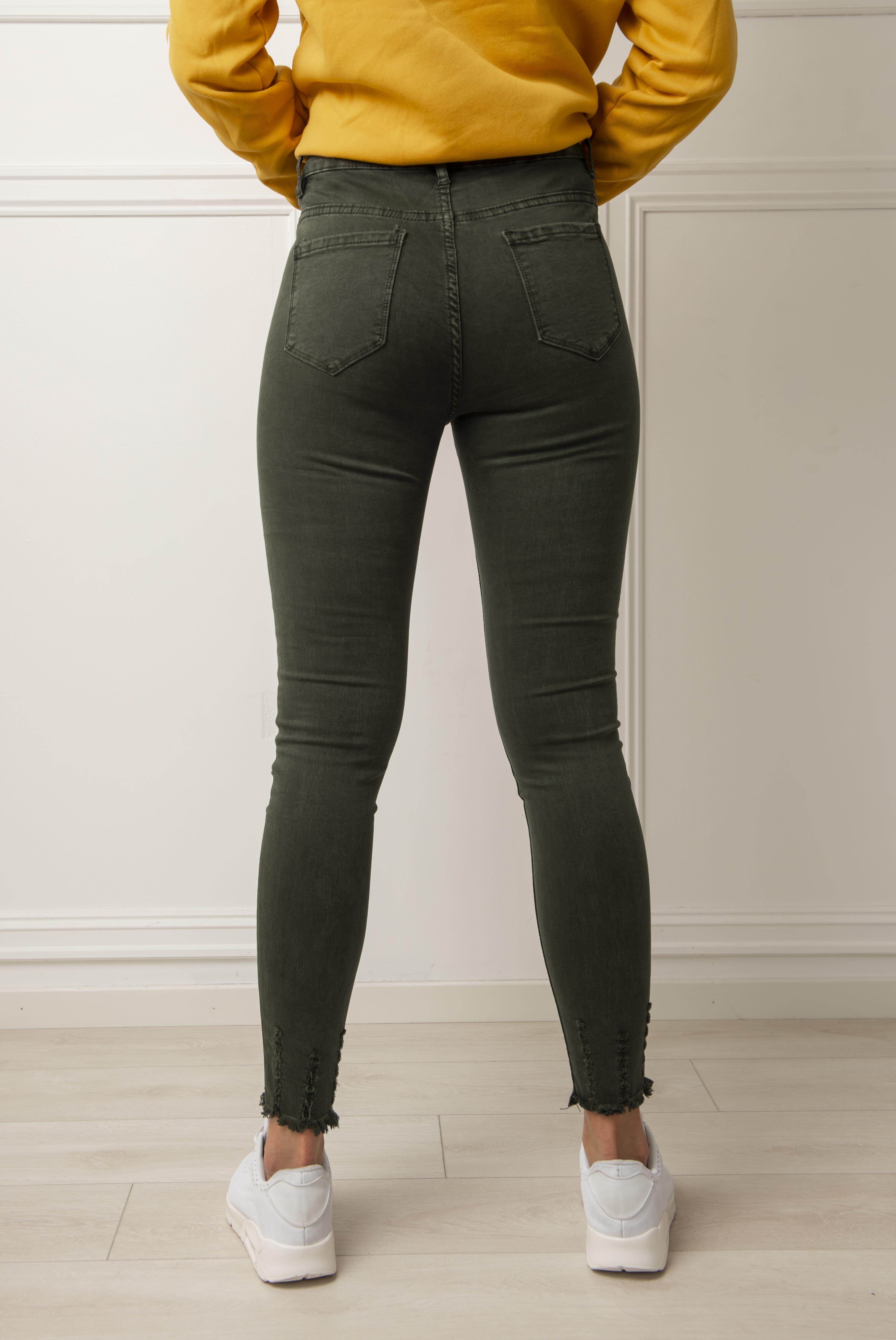 3f568612 Jeans - Ida grønn Jeans - Ida grønn