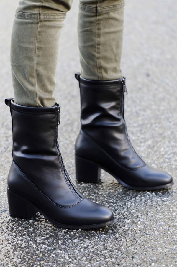 Støvletter - Celine svart