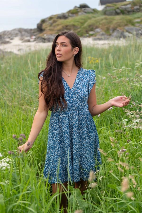 Kjole - Dina blå