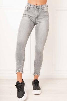 Jeans - Nora grå (6D192)