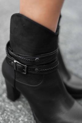 Støvletter - Bente svart