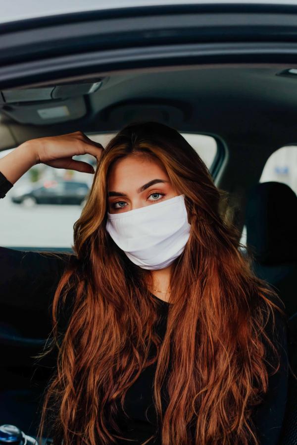 Maske - Hvit
