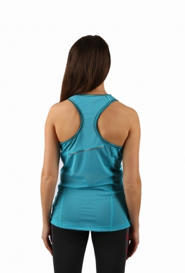 2XU - Ice X Air Singlet Printed Capri Blue