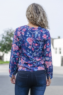Skjorte - Gabriella blå