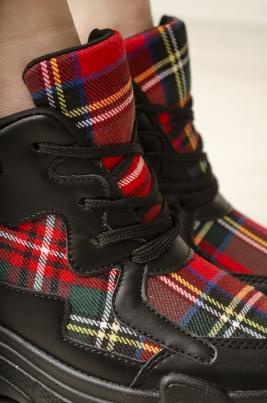 Sneakers - Amber rød
