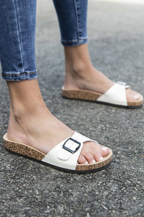 Sandaler - Hanna hvit