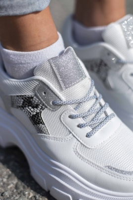 Sneakers - Sandy hvit
