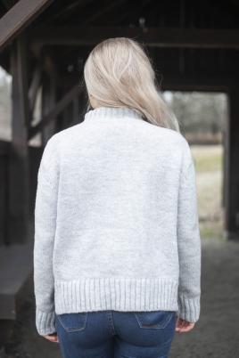 Genser - Agathe grå