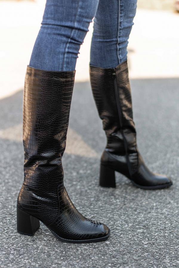 Støvletter - Berit svart