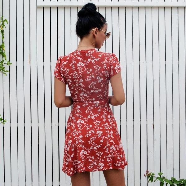 Kjole - North Exclusive Emmie rød