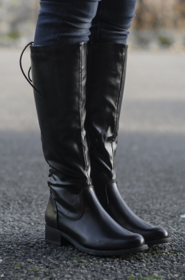 Støvletter - Ane svart