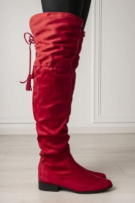 Støvletter - June rød