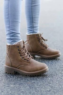 Boots - Emma Camel Vinter